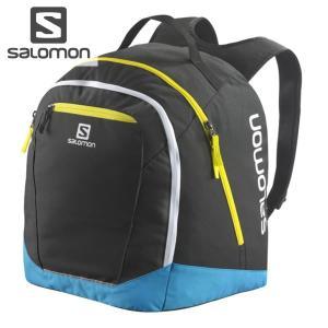 17-18 SALOMON ブーツバッグ ORIGINAL GEAR BACKPACK l38289500: Black Cyan Hexac 正規品/サロモン/ブーツケース/スキー/スノーボード/snow|brv-2nd-brand