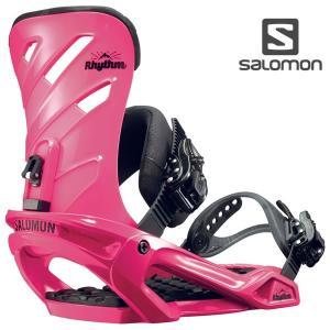 17-18 SALOMON バインディング RHYTHM l39065000: Pink 正規品/サロモン/メンズ/スノーボード/ビンディング/リズム/金具/snow|brv-2nd-brand