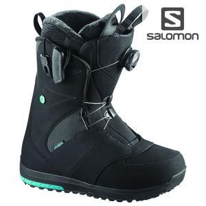17-18 レディース SALOMON ブーツ IVY BOA l39431000 : black 正規品/サロモン/スノーボード/靴/アイビーボア/snow|brv-2nd-brand