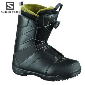 18-19 SALOMON ブーツ FACTION BOA L40436600: BLACK 正規品/サロモン/メンズ/スノーボード/ファクションボア/靴/snow|brv-2nd-brand