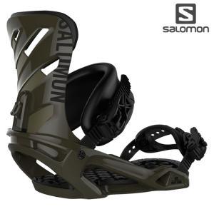 18-19 SALOMON バインディング RHYTHM L40764700: ARMY GREEN 正規品/サロモン/メンズ/スノーボード/ビンディング/リズム/金具/snow|brv-2nd-brand
