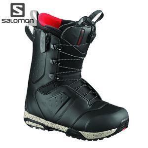 18-19 SALOMON ブーツ SYNAPSE WIDE JP L40500600: BLACK 正規品/サロモン/メンズ/スノーボード/シナプスワイド/靴/snow|brv-2nd-brand