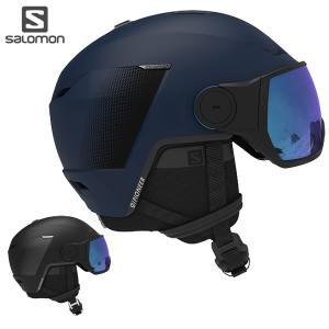 20-21 SALOMON ヘルメット PIONEER LT VISOR : 正規品/パイオニアバイ...