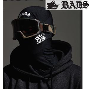 16SN BADS バッズ バラクラバ Baraclava ba2700: BADS/black 正規品 スノーボード小物/バッダス/badass/バダス/マスク/cat-snow|brv-2nd-brand