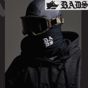 16SN BADS バッズ ネックウォーマー Neckwarmer ba2701: BADS/black 正規品 スノーボード小物/バッダス/badass/バダス/マスク/cat-snow|brv-2nd-brand
