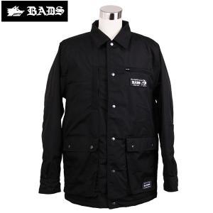 16-17 BADS ジャケット REPAIR JACKET ba2100: blk 正規品/スノーボードウエア/badass/バダス/バッズ/メンズ/ウェア/snow/ビッグサイズ/キングサイズ|brv-2nd-brand