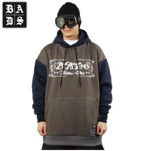 16-17 BADS パーカー SWITCH HOOD ba2306: Charcoal Navy 正規品/スノーボードウエア/badass/バダス/バッズ/メンズ/ウェア/snow|brv-2nd-brand