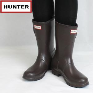 ハンター HUNTER レディース オリジナル ショートラバーブーツ hwfs1000rma: BCH 国内正規品 WELLY/長靴/レインブーツ靴/シューズ|brv-2nd-brand