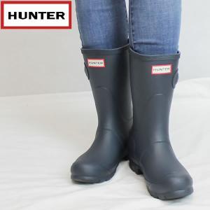 ハンター HUNTER レディース オリジナル ショートラバーブーツ hwfs1000rma: NVY 国内正規品 WELLY/長靴/レインブーツ/cat-fs/靴/シューズ|brv-2nd-brand