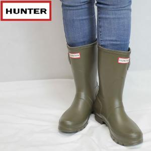 ハンター HUNTER レディース オリジナル ショートラバーブーツ hwfs1000rma: SGR 国内正規品 WELLY/長靴/レインブーツ/cat-fs/靴/シューズ|brv-2nd-brand