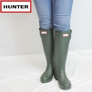 ハンター HUNTER レディース オリジナル トール ラバーブーツ hwft1000rma: DOV 国内正規品 WELLY/長靴/レインブーツ/cat-fs/靴/シューズ|brv-2nd-brand