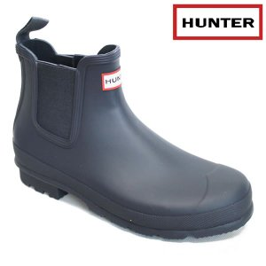 HUNTER メンズレインブーツ Original Dark Sole Chelsea Boots mfs9021rbs: mdn 国内正規品/長靴/シューズ/ハンター|brv-2nd-brand