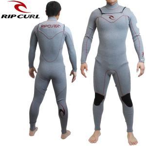 リップカール RIP CURL メンズウェットスーツ 3X2MM フルスーツ FULL OPEN ZIP x30-302: BlkHeather 日本正規品 ウエットスーツ【cat-surf】|brv-2nd-brand