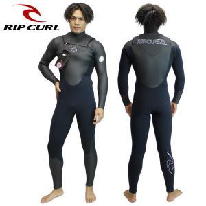 RIP CURL ウェットスーツ 5x3mm CHEST ZIP v30-621: 1blk 正規品/リップカール/ウエットスーツ/メンズ/v30621/surf|brv-2nd-brand