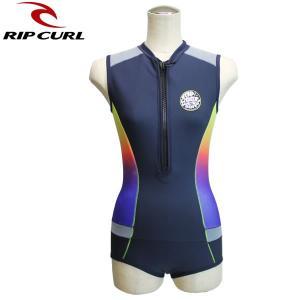 レディース RIP CURL スプリングウェットスーツ 1mm v34-240: mlt 正規品/リップカール/ショートジョン/v34240/surf brv-2nd-brand