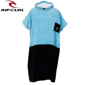 18SP RIP CURL サーフポンチョ RIP PONCHO u01-955: blu 正規品/リップカール/メンズ/タオル/v01940/お着替え/surf|brv-2nd-brand