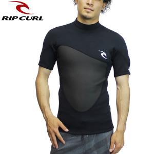 18SP RIP CURL タッパー OMEGA S/S JACKET u31-220: blk 正規品/リップカール/ウェット/ウエットスーツ/メンズ/u31220/surf brv-2nd-brand
