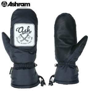 送料無料 16-17 ASHRAM ミトン Crystal Dream asrm16w04: Black 正規品/アシュラム/メンズ/glove/スノーボード/グローブ/ミット/snow|brv-2nd-brand