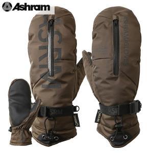 18-19 ASHRAM グローブ m.o.l.l.e : olv 正規品/アシュラム/メンズ/molle/モール/スノーボード/ミトン/ミット/snow|brv-2nd-brand