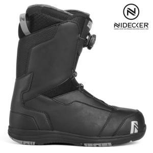 18-19 NIDECKER ブーツ AERO COILER boa:BLACK 正規品/スノーボード/メンズ/ナイデッカー/ニデッカー/flow/フロー/snow|brv-2nd-brand