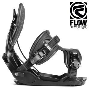 18-19 FLOW バインディング ALPHA: BLACK 正規品/フロー/メンズ/スノーボード/ビンディング/snow/フュージョン|brv-2nd-brand