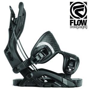18-19 FLOW バインディング FUSE FUSION: BLACK 正規品/フロー/メンズ/スノーボード/ビンディング/snow/フュージョン|brv-2nd-brand