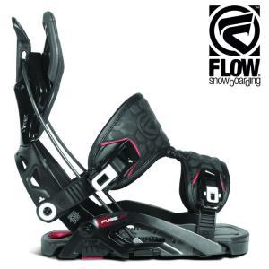 18-19 FLOW バインディング FUSE-GT FUSION: BLACK 正規品/フロー/メンズ/スノーボード/ビンディング/snow/フュージョン|brv-2nd-brand