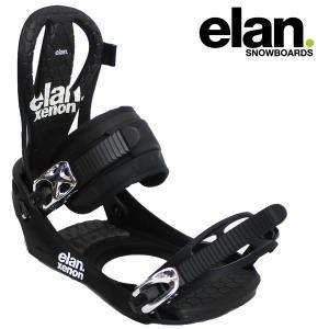 17-18 ELAN バインディング XENON: blk 正規品/メンズ/エラン/スノーボード/ビンディング/SNOW|brv-2nd-brand