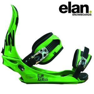 17-18 ELAN バインディング XENON: grn 正規品/メンズ/エラン/スノーボード/ビンディング/SNOW|brv-2nd-brand