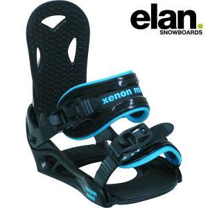 16-17 子供用 ELAN バインディング XENON: mini 正規品/メンズ/エラン/スノーボード/ビンディング/キッズ/ジュニア /SNOW/2017|brv-2nd-brand