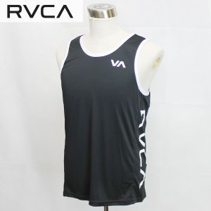 18FA RVCA ラッシュタンク MAIN STREET TANK ai042-853: blk 正規品/ルーカ/メンズ/ai042853/タンクトップ/ラッシュガード/surf|brv-2nd-brand