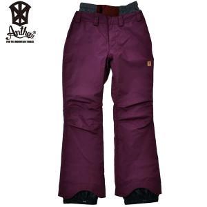 17-18 ANTHEM パンツ MID SHAPE PNT an1762: Burgundy 正規品/メンズ/レディース/スノーボードウエア/ウェア/アンセム/snow|brv-2nd-brand
