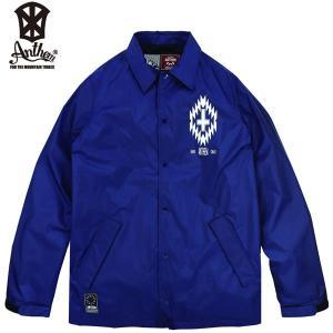 17-18 ANTHEM コーチジャケット FOLKLORE COACH JKT an1770: nvy 正規品/メンズ/レディース/スノーボードウエア/ウェア/アンセム/snow|brv-2nd-brand