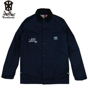 17-18 ANTHEM コーチジャケット KEYHOLE COACH JKT an1783: Black 正規品/メンズ/レディース/スノーボードウエア/ウェア/アンセム/snow|brv-2nd-brand