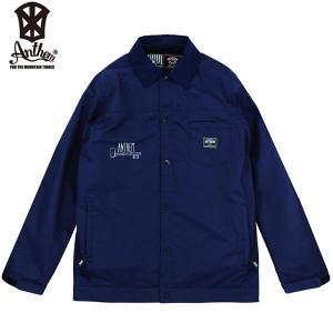 17-18 ANTHEM コーチジャケット KEYHOLE COACH JKT an1783: Navy 正規品/メンズ/レディース/スノーボードウエア/ウェア/アンセム/snow|brv-2nd-brand