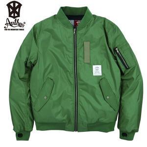17-18 ANTHEM ジャケット MA-1 JKT an1786: Khaki 正規品/メンズ/レディース/スノーボードウエア/ウェア/アンセム/snow|brv-2nd-brand