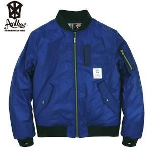 17-18 ANTHEM ジャケット MA-1 JKT an1786: Navy 正規品/メンズ/レディース/スノーボードウエア/ウェア/アンセム/snow|brv-2nd-brand