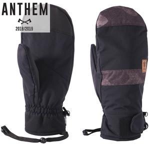 18-19 ANTHEM グローブ LOAD MITT ag1701: Black Wood Tiger 正規品/アンセム/メンズ/スノーボード/ミット/ミトン/snow|brv-2nd-brand