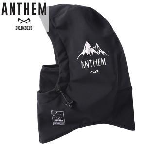 18-19 ANTHEM フードネックウォーマー BONDED NECK HOOD an17sg02: MTN BLK 正規品/メンズ/アンセム/スノーボード/snow brv-2nd-brand