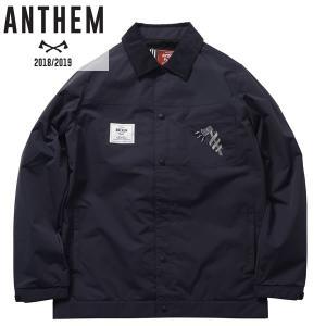 18-19 ANTHEM コーチジャケット KEYHOLE COACH JKT an1804: nvy 正規品/メンズ/レディース/スノーボードウエア/ウェア/アンセム/snow brv-2nd-brand