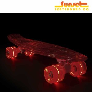 SUNSET SKATEBOARD スケートボード lifeguard 22 inch: Red Wheels 正規品/サンセットスケートボード/クルーザー/street|brv-2nd-brand