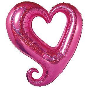 バルーン電報 結婚式 誕生日 大きなハートバルーンピンク 人気のバルーンギフト|bs-olive