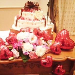 バルーン電報 結婚式 送料無料   レッドハートバルーン12個セット