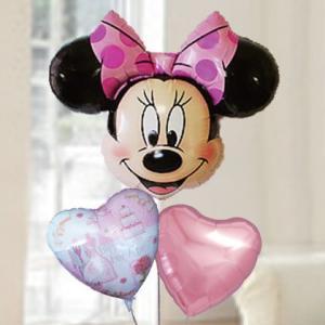 バルーン電報 結婚式 ディズニー ミニー&ウエディングバルーン 人気のバルーンギフト|bs-olive