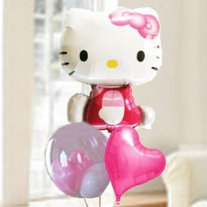バルーン電報 結婚式 誕生日 キティ &Tバルーン 人気のバルーンギフト|bs-olive
