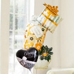 バルーン 電報 結婚式 送料無料 ウエディングギフトボックス&リボンウエディング 人気のバルーンギフト|bs-olive