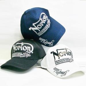 ノートン Norton 総メッシュキャップ 201N8700 アメカジ ロッカーズ バイカー リゾート|bscrawler