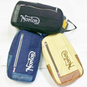 ノートン Norton 撥水加工キャンバスボディーバッグ 99N8501 アメカジ ロッカーズ バイカー|bscrawler