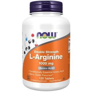 Now foods L-アルギニン 1000mg  120粒サプリメント|bsdiet