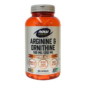 Now Foods L-アルギニン&L-オルニチン 250粒|bsdiet